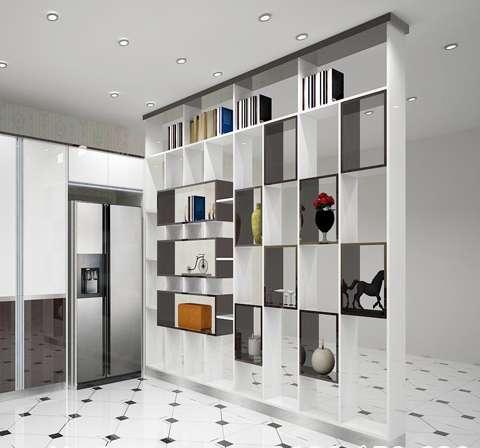 tủ trang trí acrylic