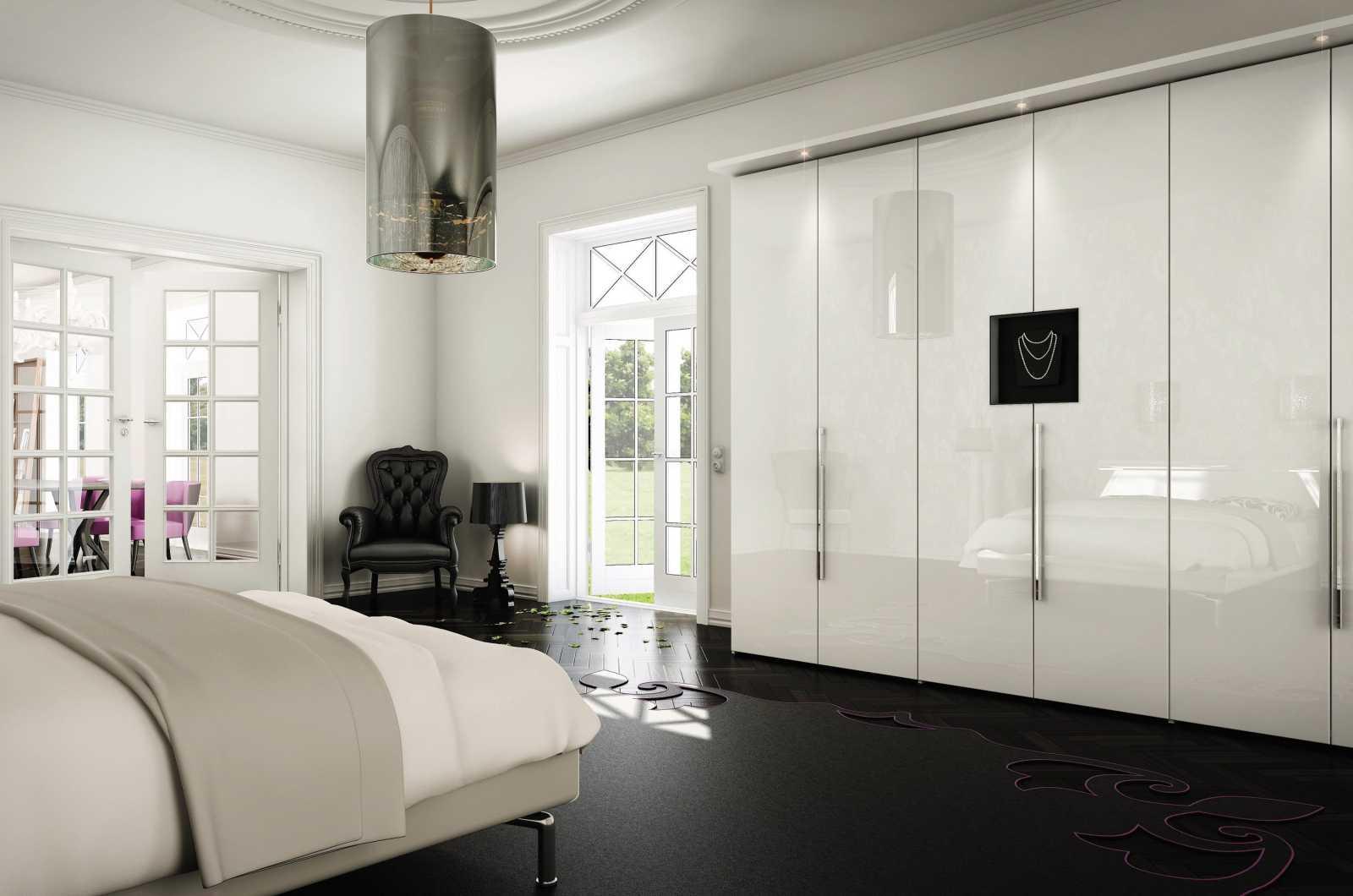 re.acrylic trắng tủ áo 1