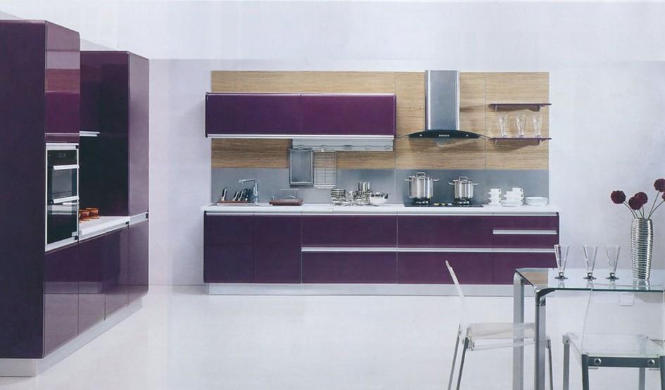 Bep acrylic mau tim violet- pma