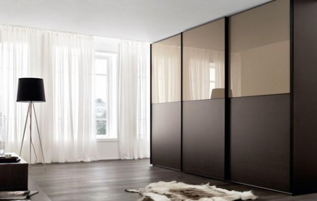 Kiểu dáng sang trọng, màu sắc bắt mắt của tủ quần áo Acrylic góp phần tạo nên sự hoàn thiện cho căn phòng nhà bạn